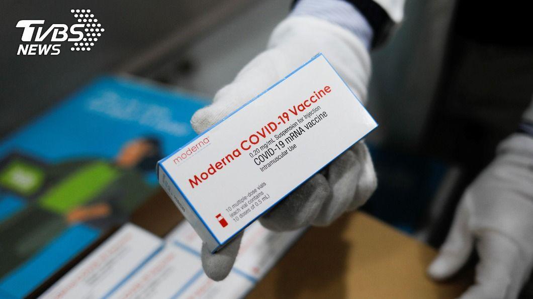 505萬劑莫德納疫苗將分批送貨來台。(示意圖/達志影像路透社) 莫德納疫苗5-6月送貨來台 505萬劑將分批供應