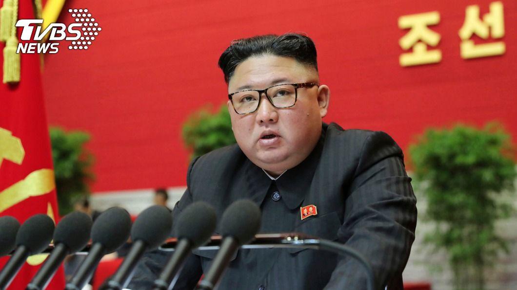 北韓領導人金正恩。(圖/達志影像美聯社) 北韓執政黨二中全會 金正恩指示施政重點