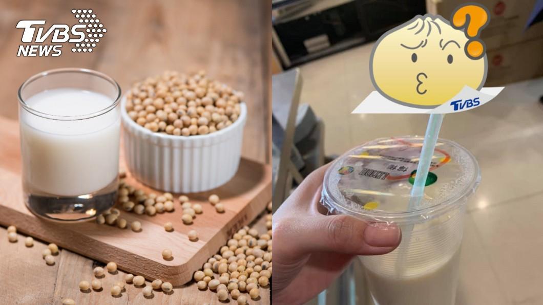 豆漿吸出「乳白條狀物」 眾反喊賺到:真材實料!