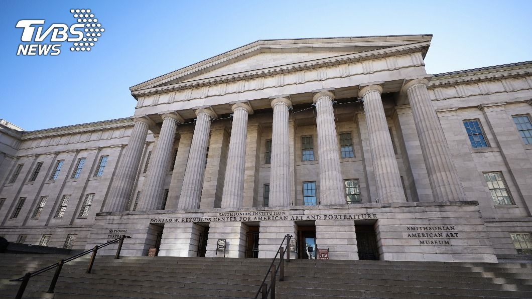 圖為史密森尼博物館旗下的國家肖像畫廊(National Portrait Gallery)外觀。(圖/中央社) 2020慢走不送? 美國博物館盼保存人們疫情記憶