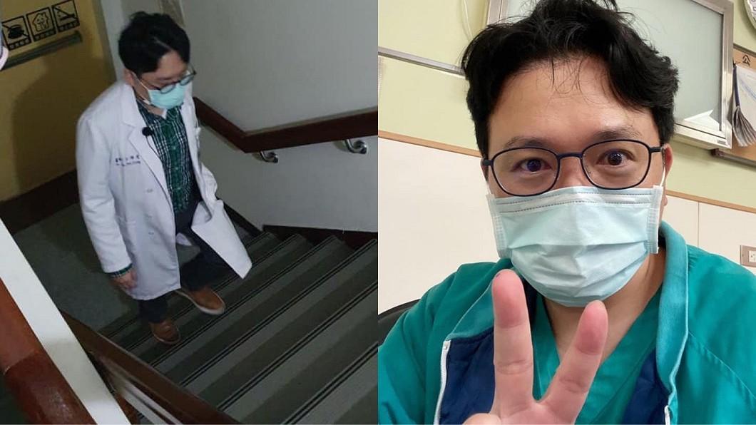 江坤俊被不少網友封為暖心名醫。(圖/翻攝自江坤俊臉書) 乳癌病患「年前看診急塞禮」 名醫1句話暖哭5萬人