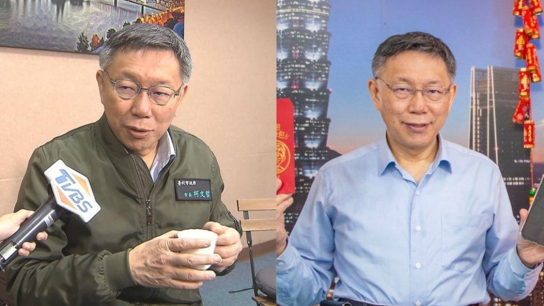 柯文哲狠酸民進黨「轉移焦點能力強」。(圖/TVBS、翻攝自柯文哲臉書) 諷民進黨「轉移焦點能力強」 柯P:我只是講實話