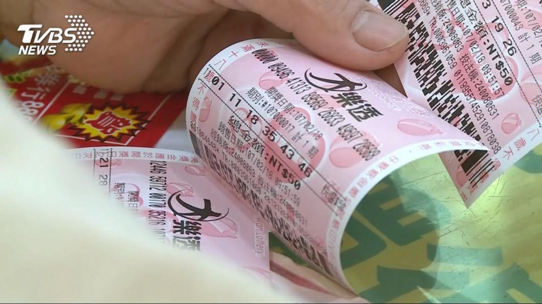 圖/TVBS資料畫面 牛力發威財運到 大樂透六連開破紀錄