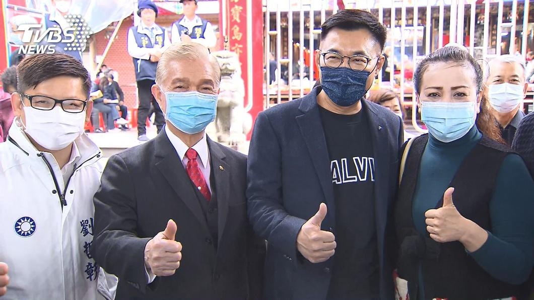圖/TVBS 被林為洲暗示選總統 江:PO照不代表要選