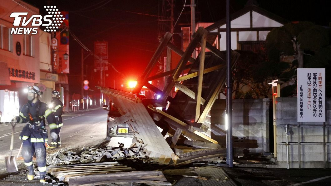 日本福島外海7.3強震 超過百人受傷