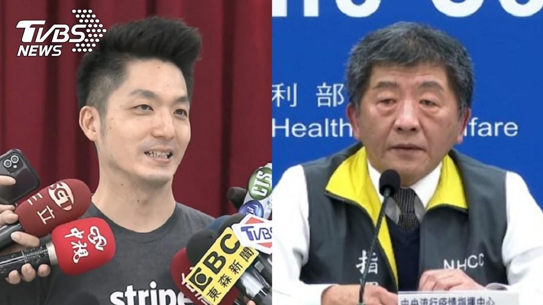 (圖/TVBS資料畫面) 蔣萬安「不會迴避」選台北市長 陳時中6字回應