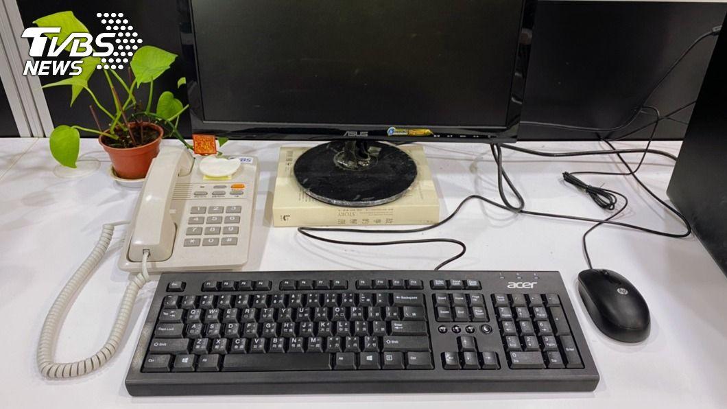 謹記辦公室擺設6重點,幫助提升事業運。(圖/TVBS) 辦公桌「開運6招」報你知 方位擺對小人退散、事業旺爆