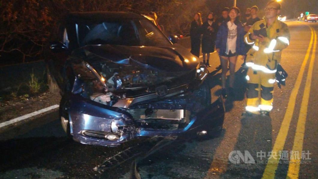 北返車流量大 屏東4車追撞7人受傷