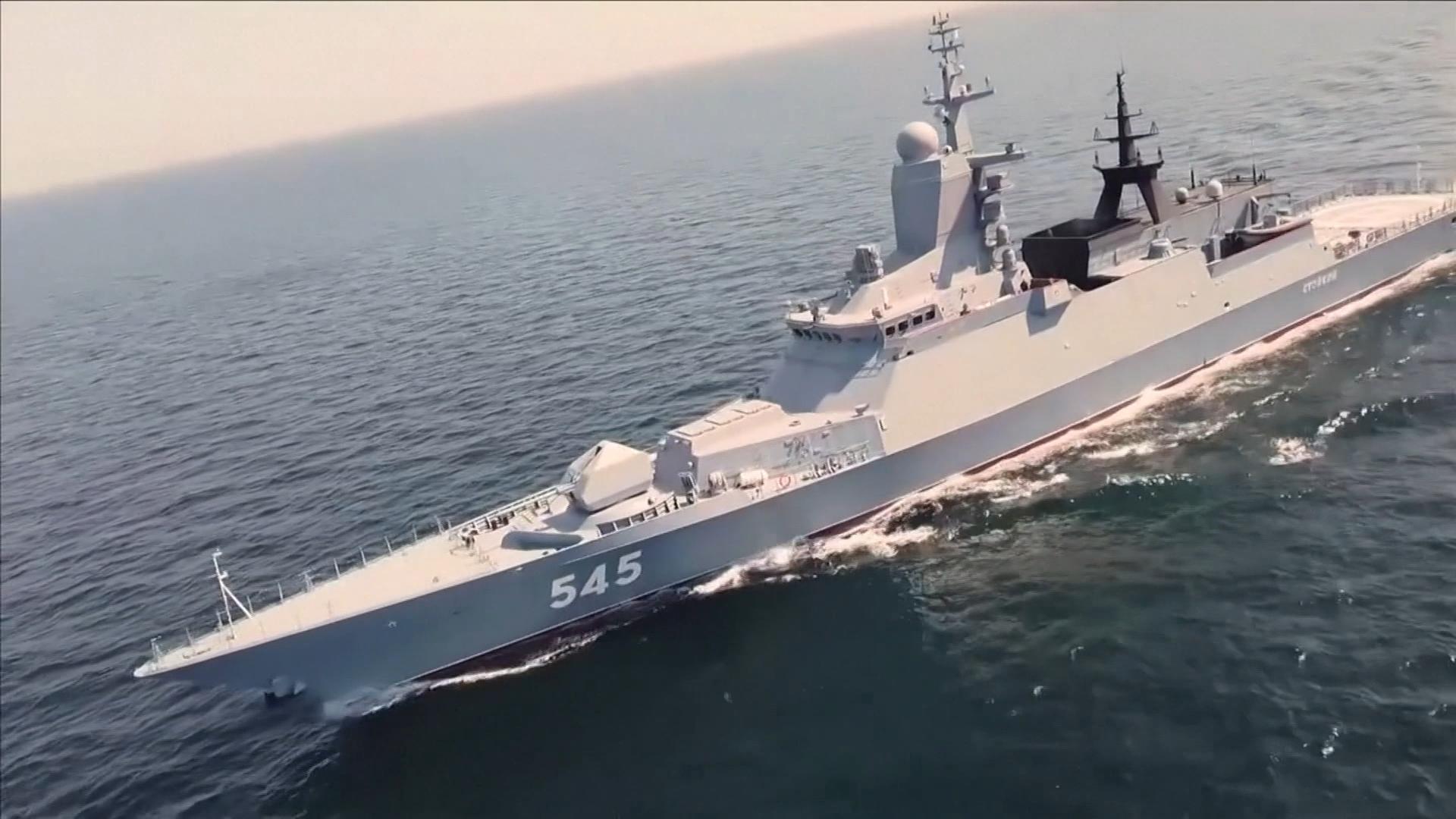 伊朗.俄羅斯聯合軍演 加強海上貿易安全