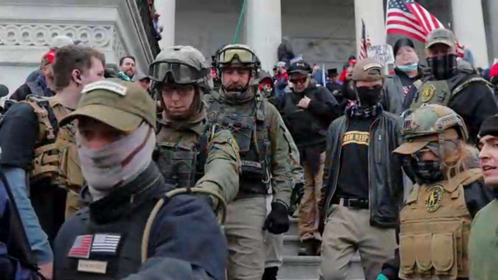 民主黨眾議員提訴 指控川普煽動國會暴動