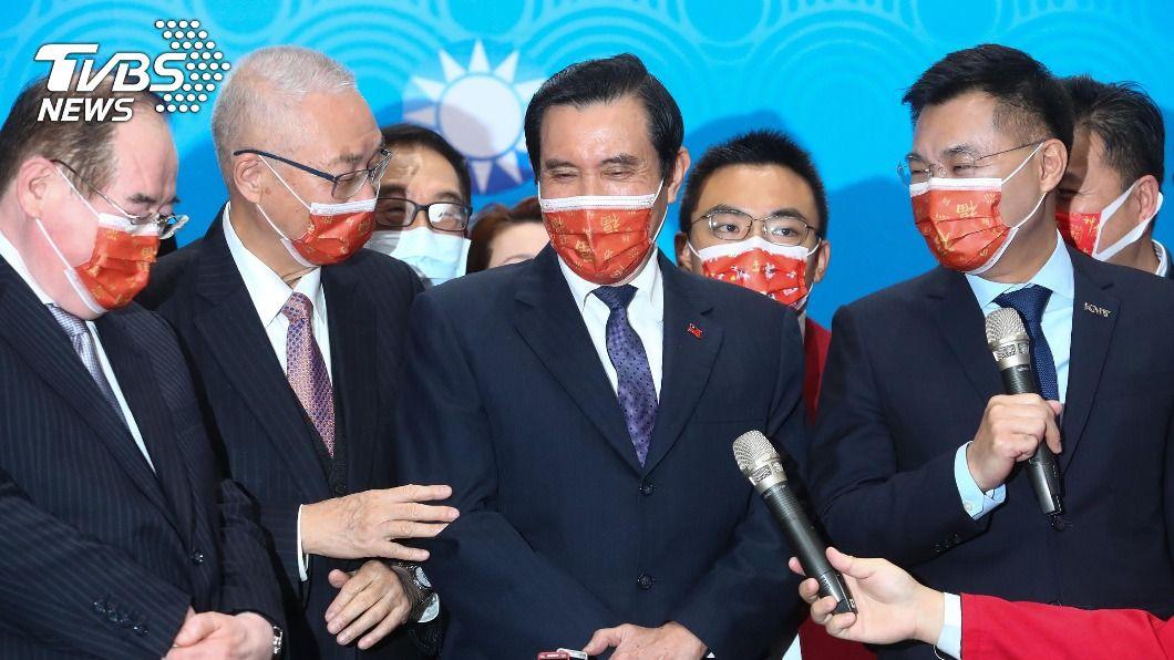 (圖/中央社) 籲勿拒大陸疫苗惹議 馬英九:不要排除可能選項