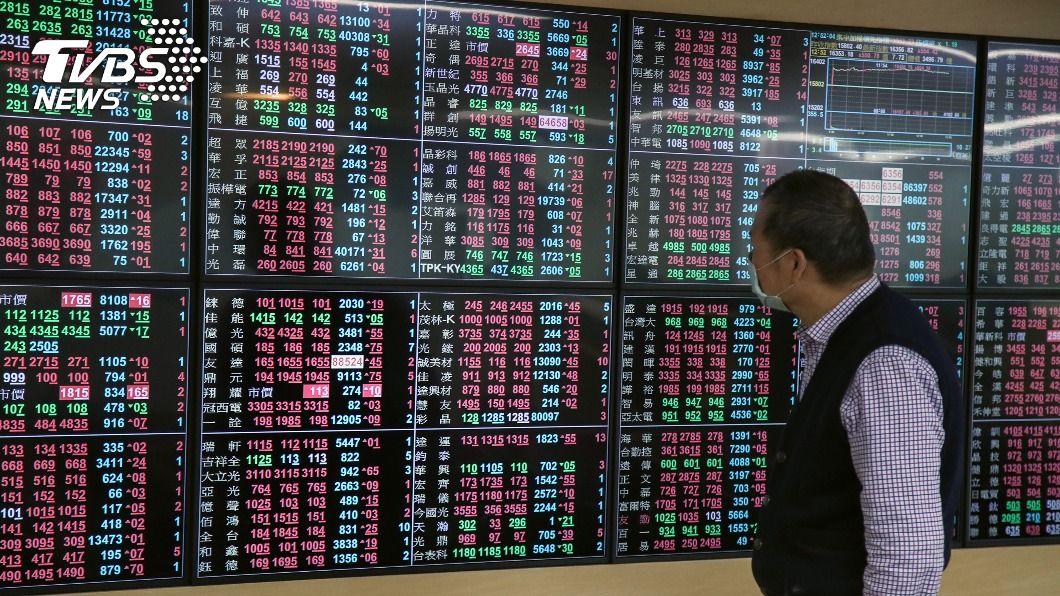 台股今大漲559.89點。(圖/中央社) 台股紅盤日牛氣沖天 法人:指數還有高點可期