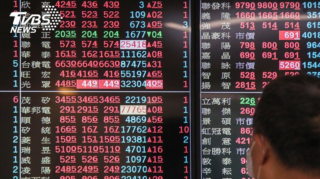 (圖/中央社) 外資買超296.88億元 搶進聯電逾8萬張
