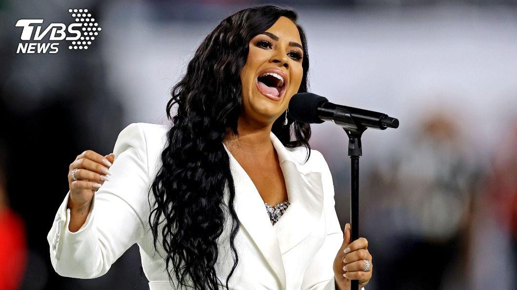 美國女歌手黛咪洛瓦托(Demi Lovato)。(圖/達志影像路透社) 〈Let It Go〉原唱吸毒過量 三度中風命在旦夕