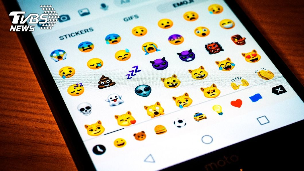 據統計,不少人對「鬼臉」的表情符號貼圖感到反感。(示意圖/shutterstock達志影像) 哪款表情包最夯? 推特戶熱門愛用10大emoji