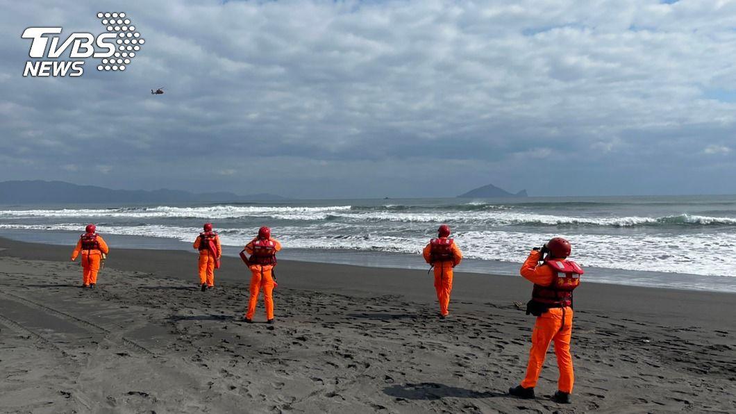 (圖/中央社) 男子壯圍下海潛水遲未上岸 救難單位陸海空搜尋