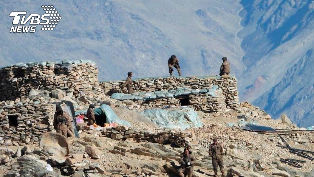 中印邊境發生軍事衝突。(圖/達志影像美聯社) 證實中印衝突4官兵陣亡 大陸重申致力邊境降溫