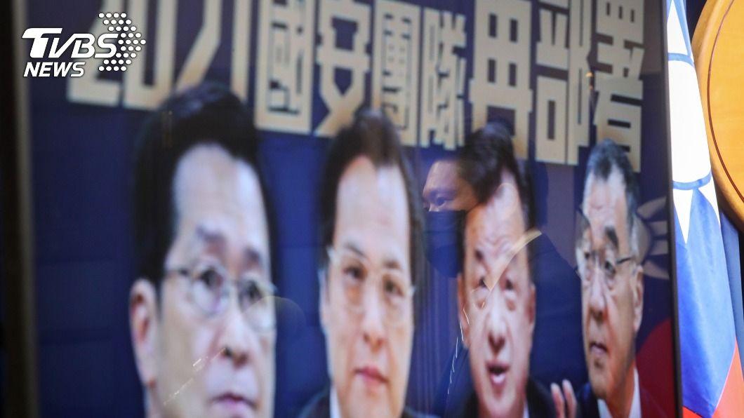 (圖/中央社) 國安人事新布局 國民黨:對陸關係是否調整待觀察