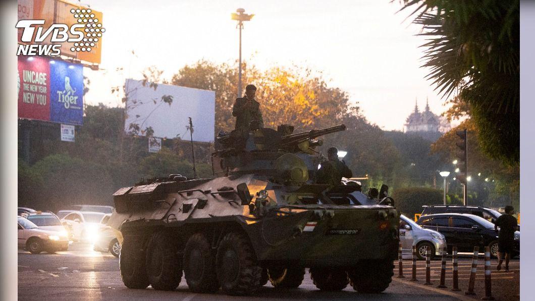 緬甸暴力鎮壓釀2死,英國考慮採取行動。(圖/達志影像路透社) 緬甸暴力鎮壓釀2死 英考慮採取進一步行動