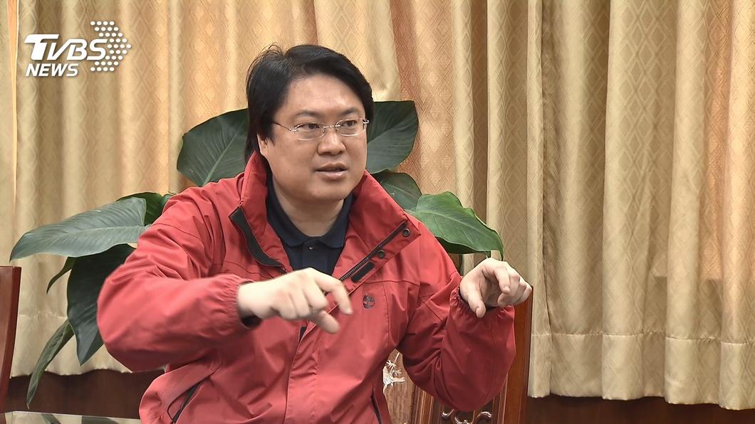 基隆市長林右昌。(圖/TVBS) 媒體報導接交通部長? 林右昌:現在市政最重要
