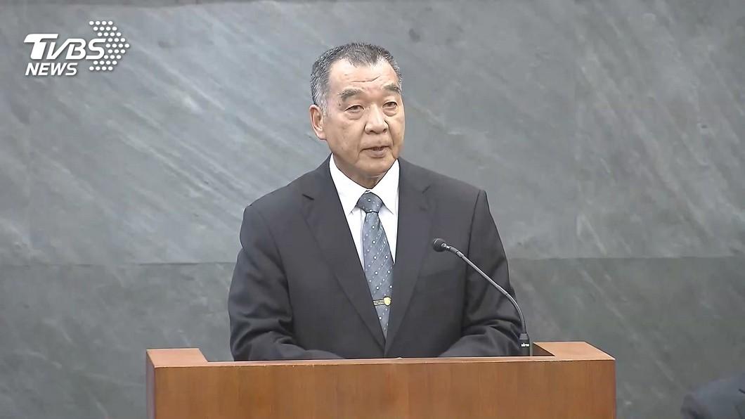 國防部長邱國正。圖/TVBS資料畫面 役男看過來!軍事訓練恢復「下部隊」有機會抽「金馬獎」