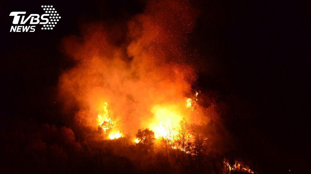 (示意圖/shutterstock 達志影像) 韓國山區多處野火 約255公頃森林燒毀