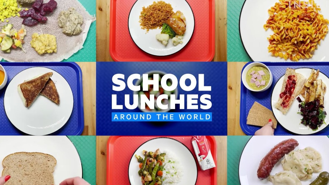 圖/翻攝自Food Insider YouTube 開學營養午餐吃什麼? 23國美食文化報你知