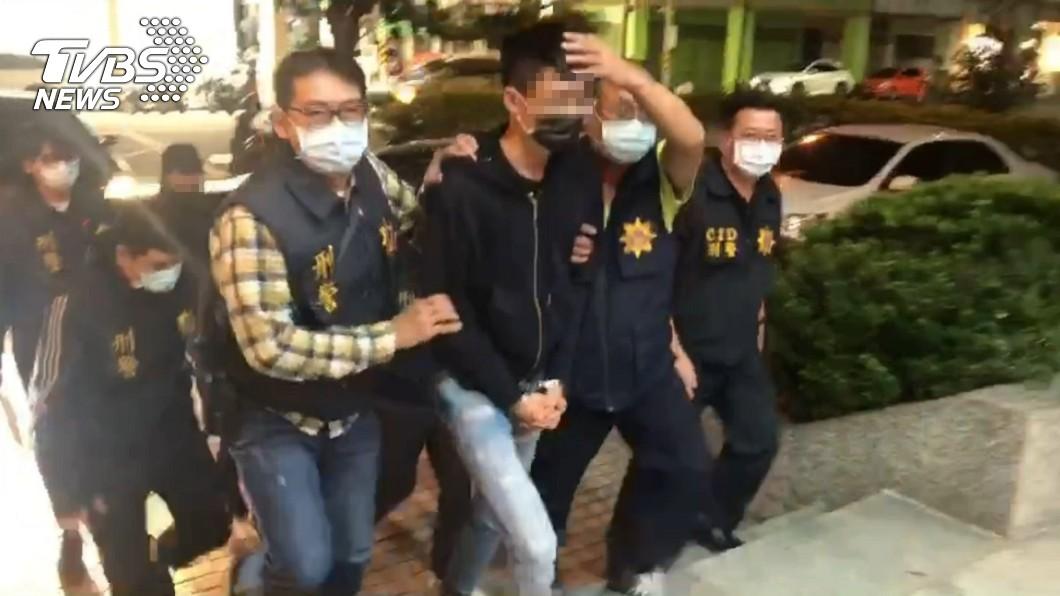 傷害超艾夾的4位嫌犯全數被緝拿到案。(圖/高雄市政府警察局提供) 光天化日砍殺網紅超艾夾 4嫌全被緝拿到案