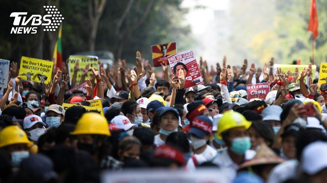 圖/達志影像路透社 聯合國秘書長譴責緬甸暴力鎮壓民眾 要求立即停止