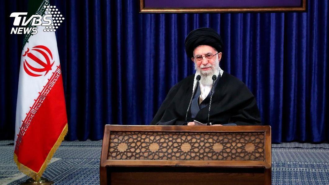 伊朗最高領袖哈米尼。(圖/達志影像美聯社) 不甩美國 伊朗最高領袖:鈾濃縮純度可能高達60%