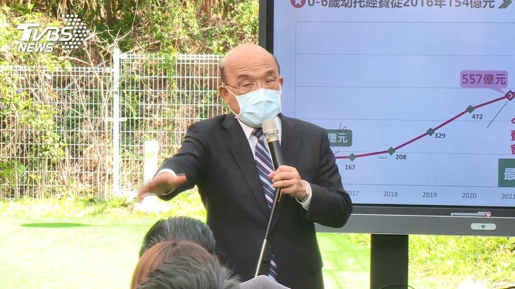 行政院長蘇貞昌。(圖/TVBS資料畫面) 國營人事頻傳異動 羅秉成:相信蘇貞昌不選總統