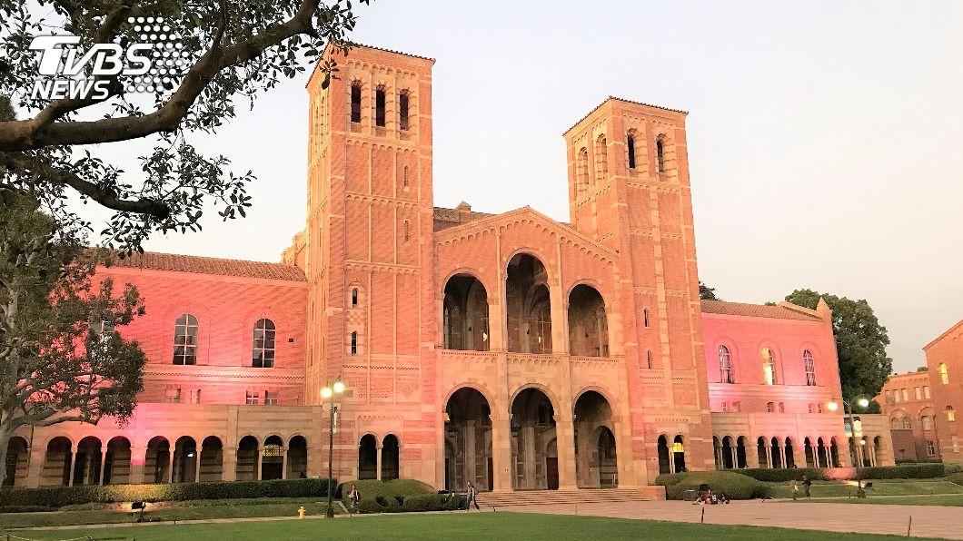 圖為加州大學洛杉磯分校(UCLA)校園。(圖/中央社) 台美學術合作 UCLA宣告打造台灣研究重鎮