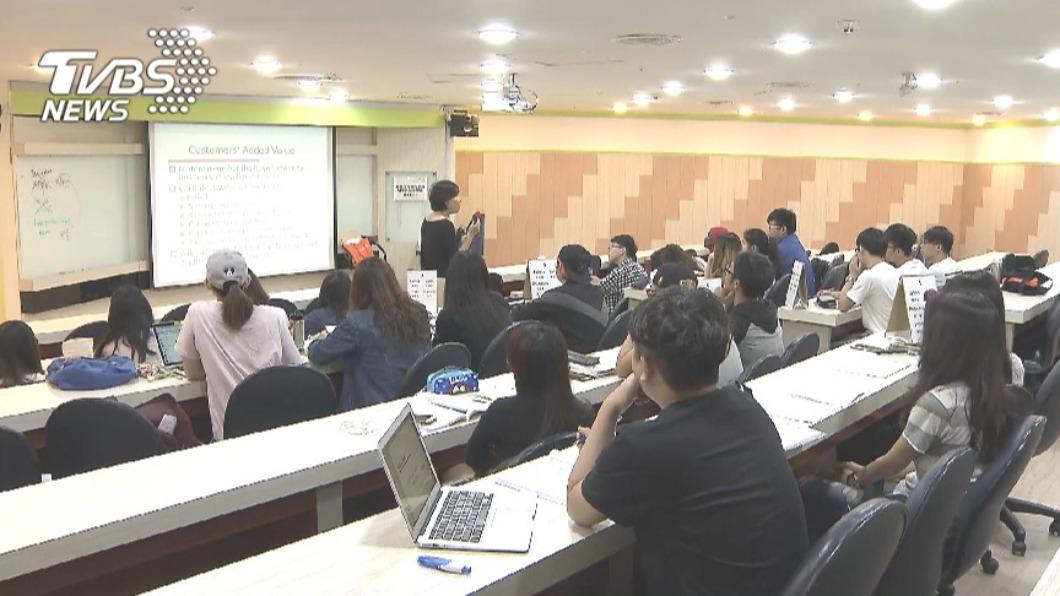 大學個人申請管道將於3月開跑。(圖/TVBS資料畫面) 個人申請「黃金週六」 159系組選4/17甄試