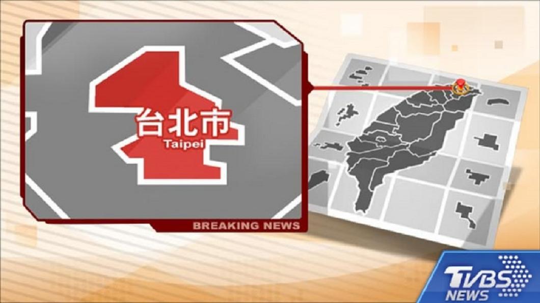 台北市士林區發生槍擊案。(圖/TVBS) 疑毒品糾紛談判!1男遭8黑衣人開槍 幸子彈僅擦過頸部