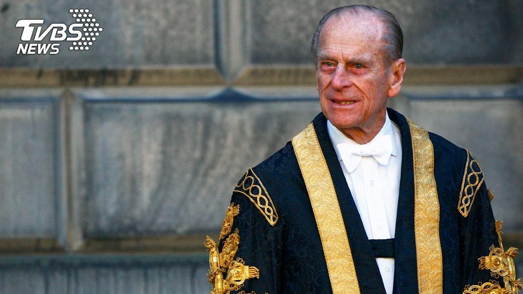 英國女王伊麗莎白二世的夫婿菲立普親王。(圖/達志影像路透社) 英女王夫婿感染接受治療 繼續留院觀察
