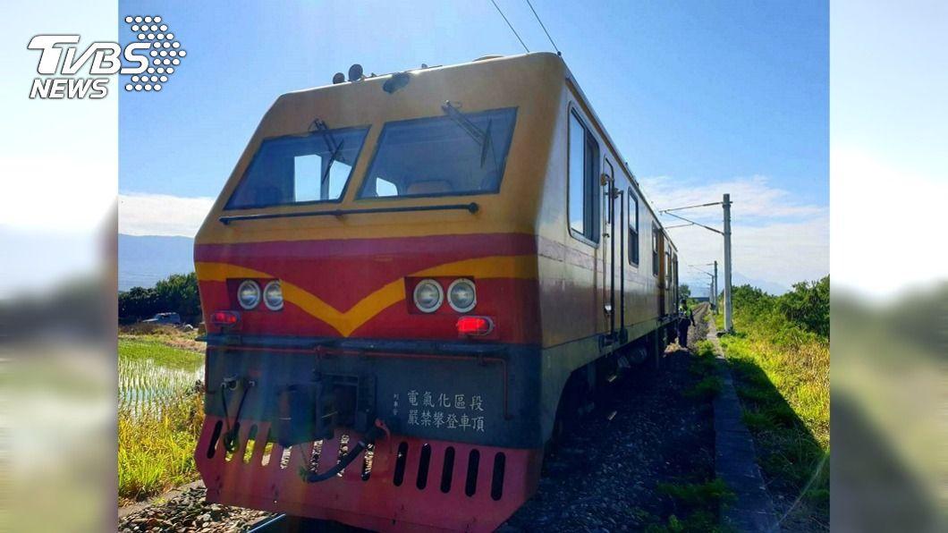 昨天台鐵局維修工程車撞上工人造成2死1重傷意外。(圖/中央社) 台鐵2死1傷工安意外 瞭望員功能發揮檢方要查