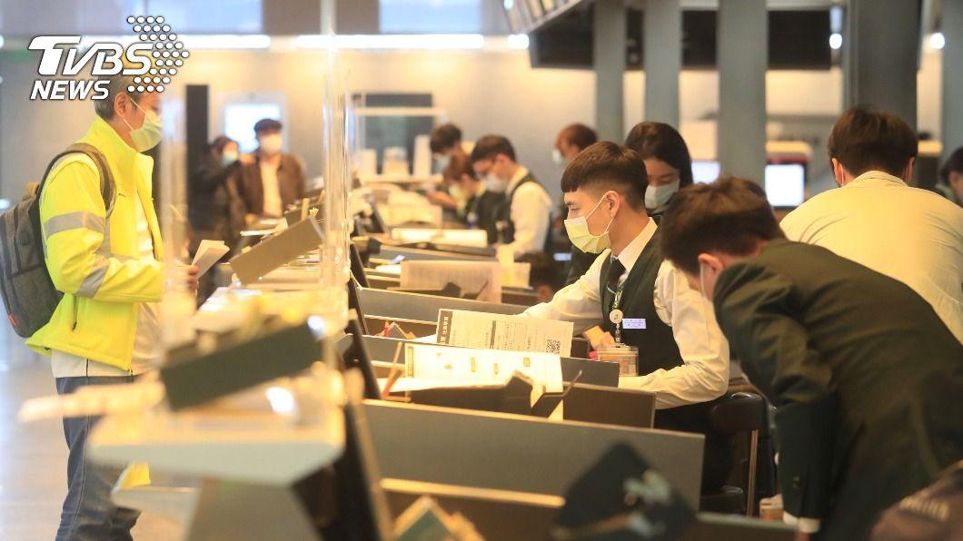 部分境管相關行業實施減班休息。(示意圖/中央社) 無薪假最新統計4158人 邊境管制仍為主要影響