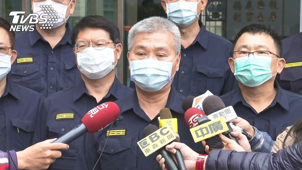 台南市警察局長方仰寧。(圖/TVBS) 台南8天3起刑案釀2死 方仰寧:全力壓制幫派惡鬥
