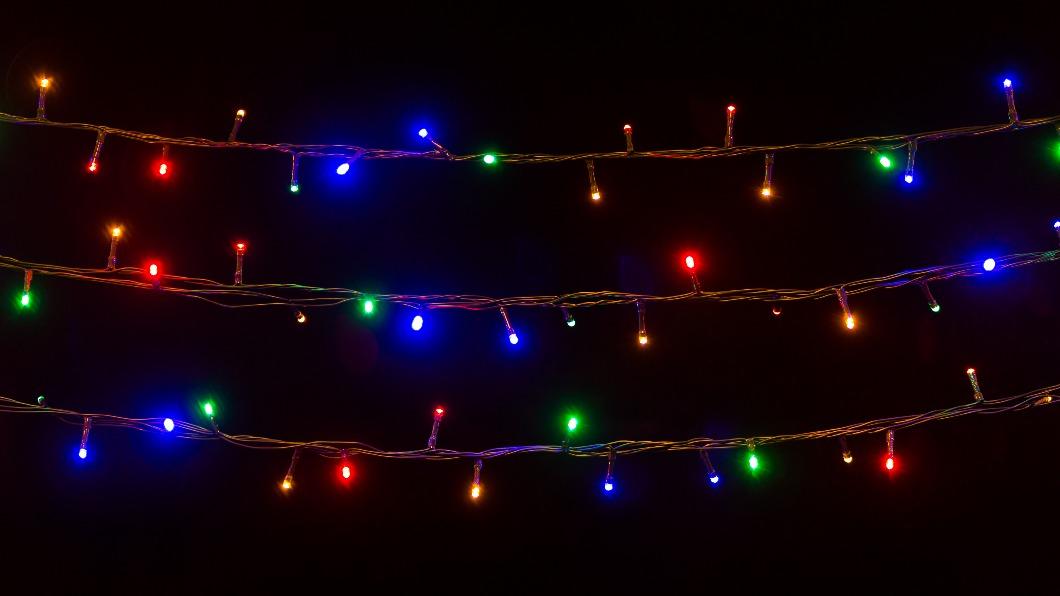 示意圖/shutterstock 達志影像 彩色燈泡自由裝飾 日網紅房間天天耶誕節