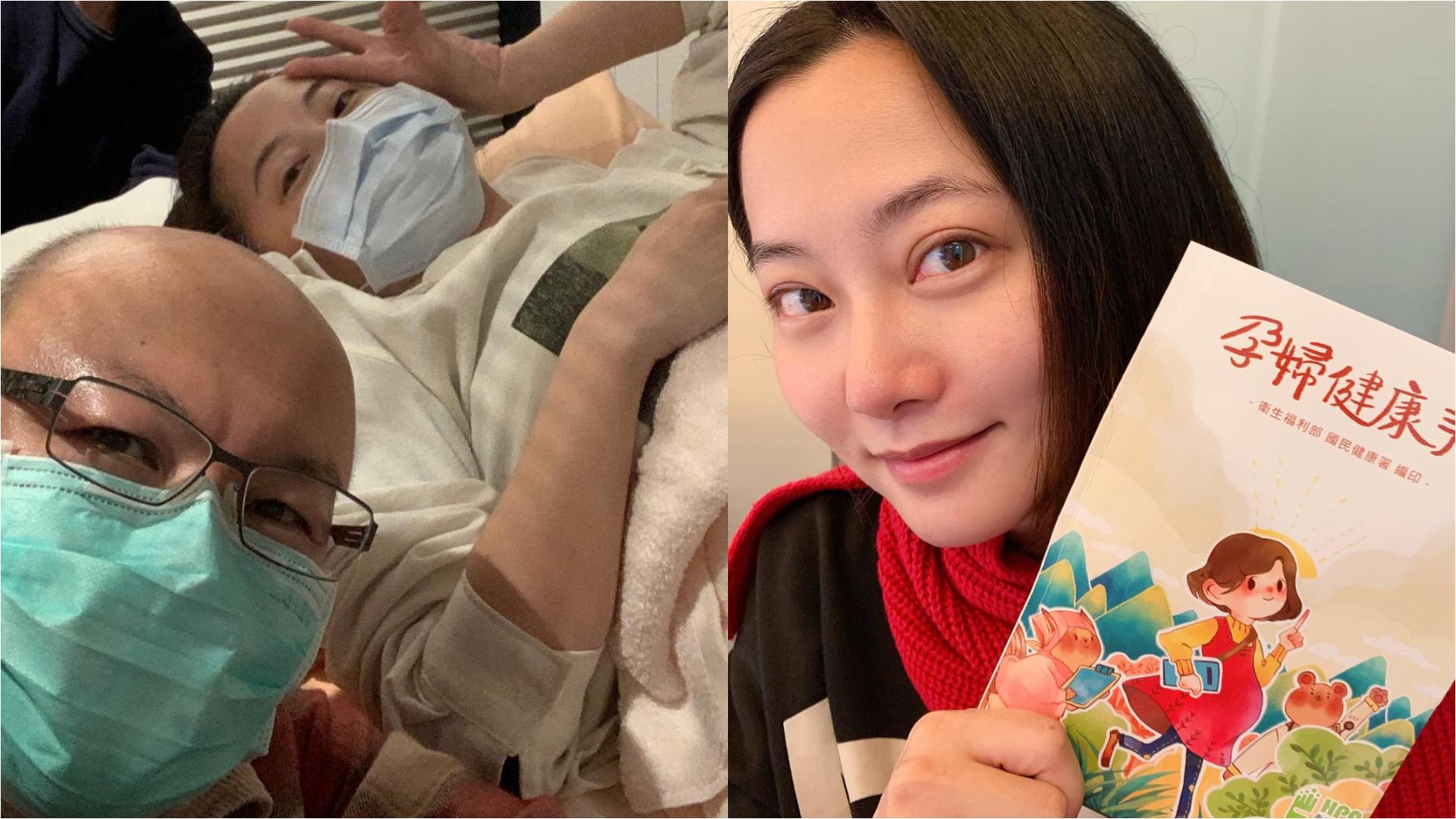 趙小僑懷孕16週突胎停 悲痛:寶寶沒保住…