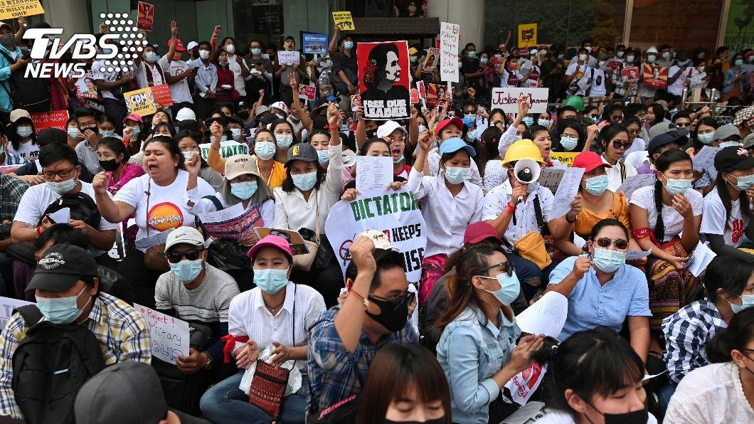 緬甸軍政府慌了! 公務員罷工無人可發薪