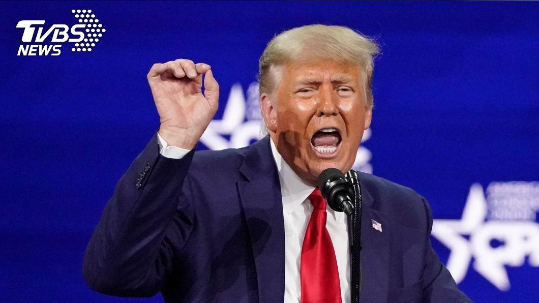 前美國總統川普。(圖/達志影像美聯社) 澄清不會籌組新政黨 川普暗示再選2024