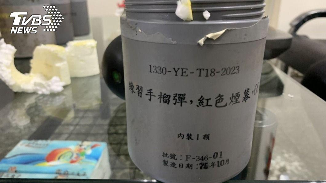 警局廢棄鐵櫃掉出6顆手榴彈 回收廠嚇壞