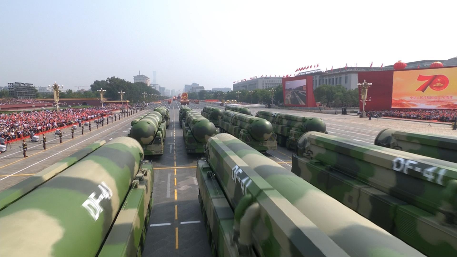 解放軍新建16個ICBM設施 提高對美反擊力