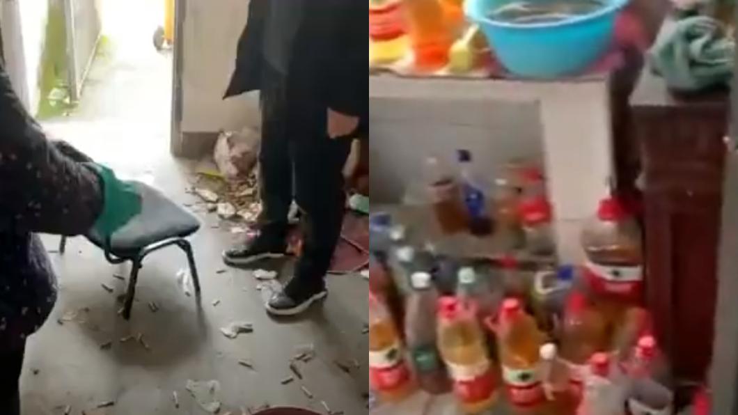 (圖/翻攝自網易視頻) 租客搬走留滿地「瓶裝尿」 房東開門崩潰:跟豬來了一樣