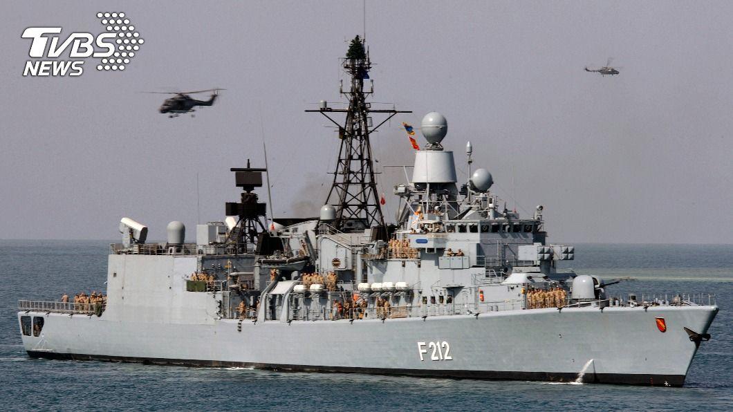 圖/達志影像路透社 德國官員:將派巡防艦行經南海 2002年以來首次