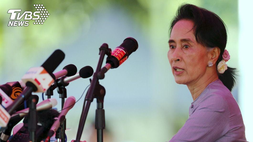 東協多國呼籲緬甸軍方釋放翁山蘇姬。(圖/達志影像路透社) 東協籲緬甸各方對話 多國外長籲釋放翁山蘇姬