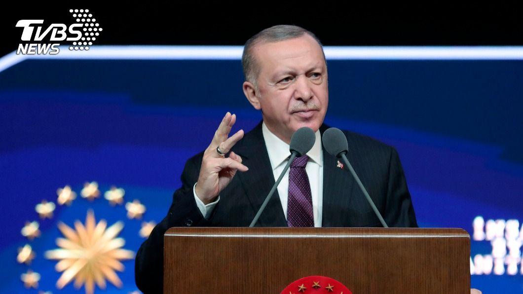 土耳其總統艾爾段。(圖/達志影像美聯社) 艾爾段公布人權行動計畫 宣示加強土耳其言論自由