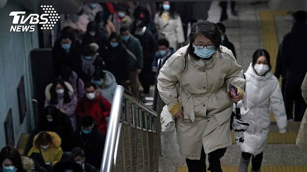 (圖/達志影像美聯社) 大陸新增10例新冠肺炎確診 皆為境外移入