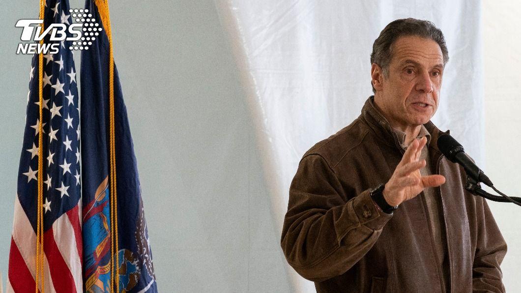 美紐約州長古莫。(圖/達志影像美聯社) 接連3人指控性騷 紐約州長古莫下台呼聲高漲